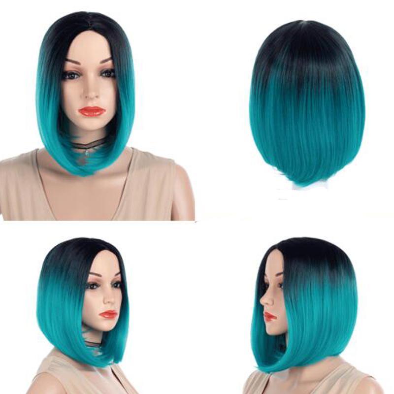 Kurze Haare Damen Seite Bobo Haartyp Cosplay Haar Synthetische Perücke Gesetzt Heißer Verkauf Europa Und Amerika Perücke Großhandel