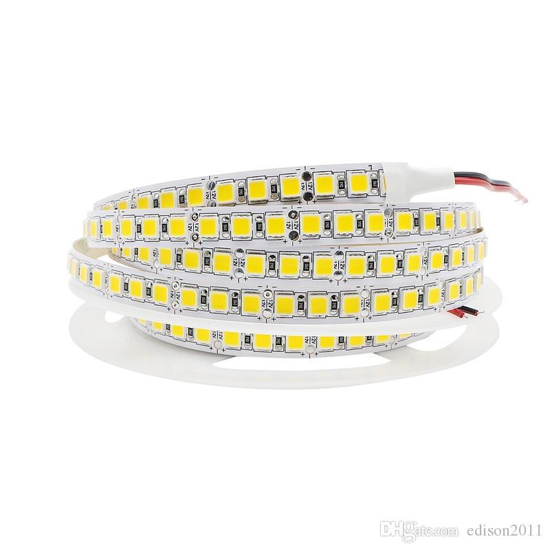 Edison2011 5M5054 LED Strip Light 120LEDs/M Non Waterproof 12V 600 Led Stripe Flexible LED Ribbon Tape Lamp