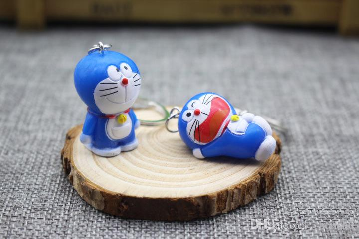 Brand New Creative Japanese cartoon machine cat bag pendants Doraemon key chain Wholesale manufacturer direct selling