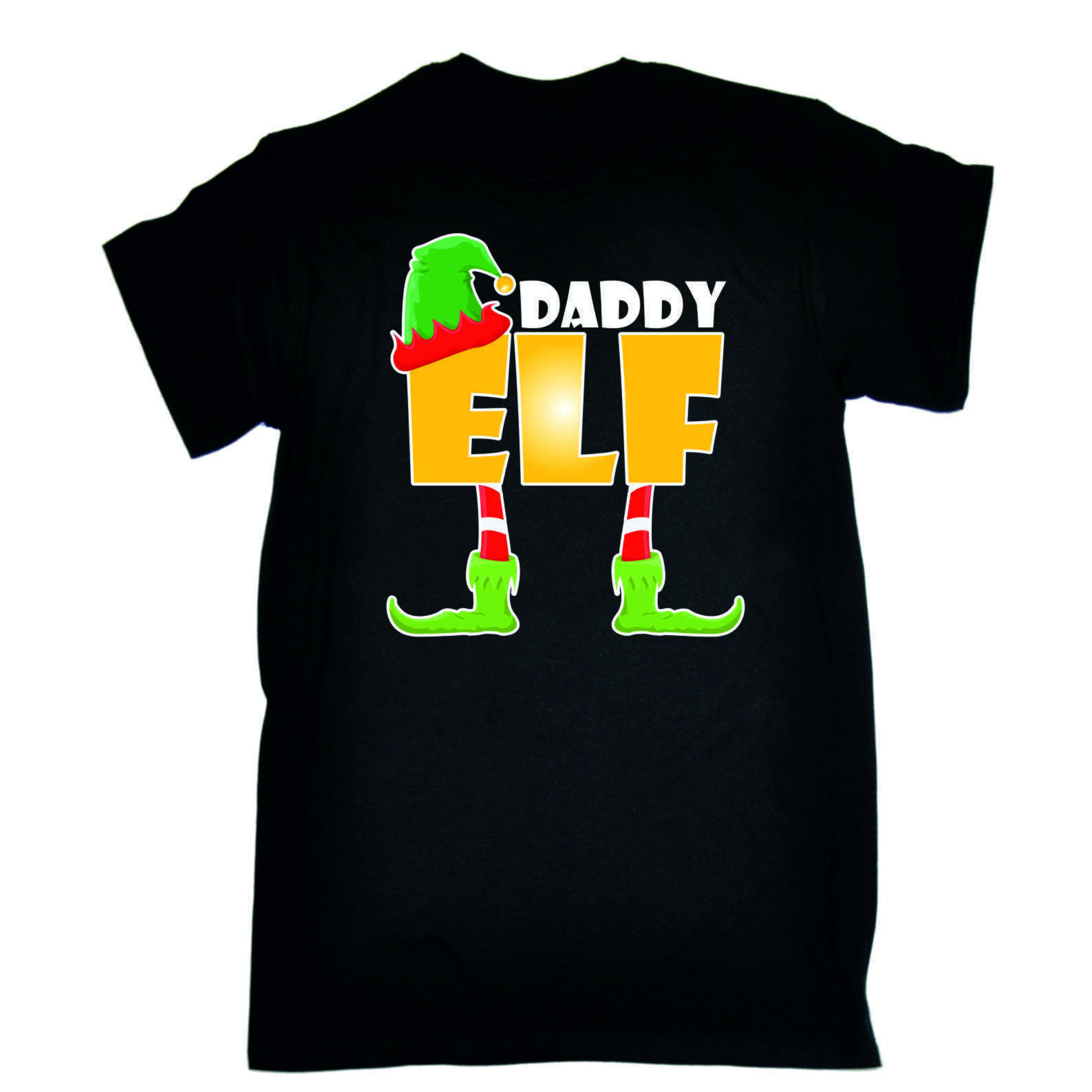 50942026 ELF Family Christmas T-Shirts - Novelty Funny X-mas Day Black Loose Fit T  Shirt Funny Unisex Casual Tee Gift Free Shipping Unisex Funny Classic  Unique ...
