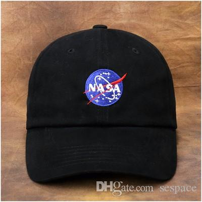 5046c55782c Wholesale- NASA Embroidered Baseball Cap - Astronaut Geek Nerd ...