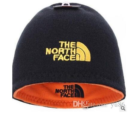 Unisex Brand NF Hat The North Polar Fleece Cap Winter Beanie Men Women  Skull Caps Face Outdoor Skiing Hats Beanies Warm Hip Hop Cap Ear Muff  Beanies Fedora ... 58b7e460fb