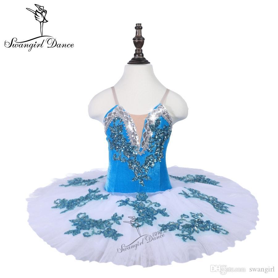 64b798eea 2019 Girls Bluebird Classical Dance Costume Tutu Women&Adult Ballerina Tutu  Skirt Performance18072 From Swangirl, $78.7 | DHgate.Com