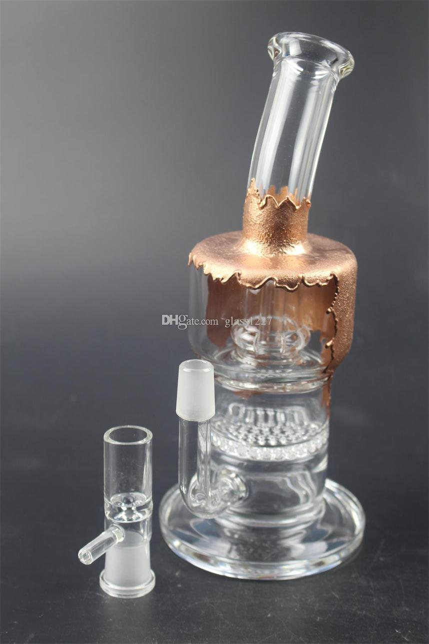 Tubo dell'acqua di vetro di vendita diretta del produttore e nuovo tubo di vetro del fumo del tubo dell'acqua del filtro a forma di processo libero della nave