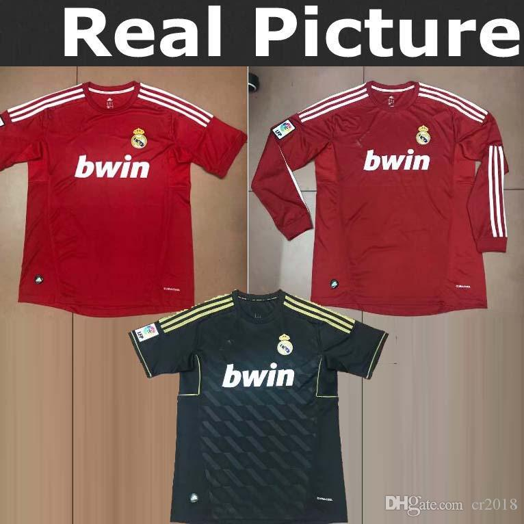 11-12 Real Madrid TOP Best Quality RONALDO 7 KAKA 8 Arsenal 1999 ... fde22f061