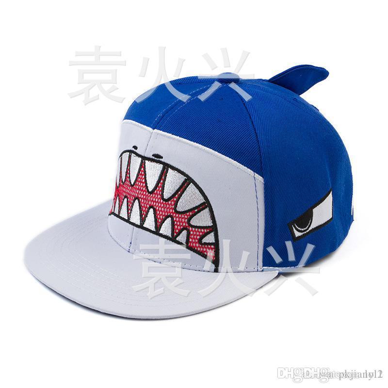 New Hip Hop Music 2020 2020 2015 New Style63 Korean Version Of The Cartoon Shark Mouth