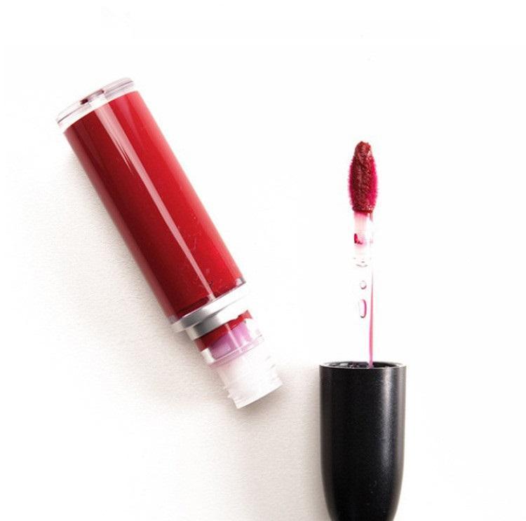 Neue Verfassungs-Retro- matte flüssige Lippenfarbe Waterproof Glasur Lipgloss 15 verschiedene Farben mit englischem Namen DHL geben Verschiffen frei