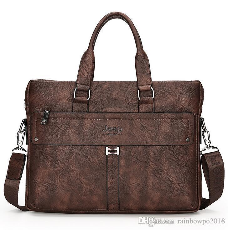 Outlet Brand Men Bag Korean Version of High-quality Leather Mens ... 71f49dba9503b