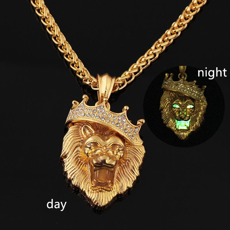 Wholesale Designer Jewelry Hip Hop Lion King Big Size Rapper Crazy