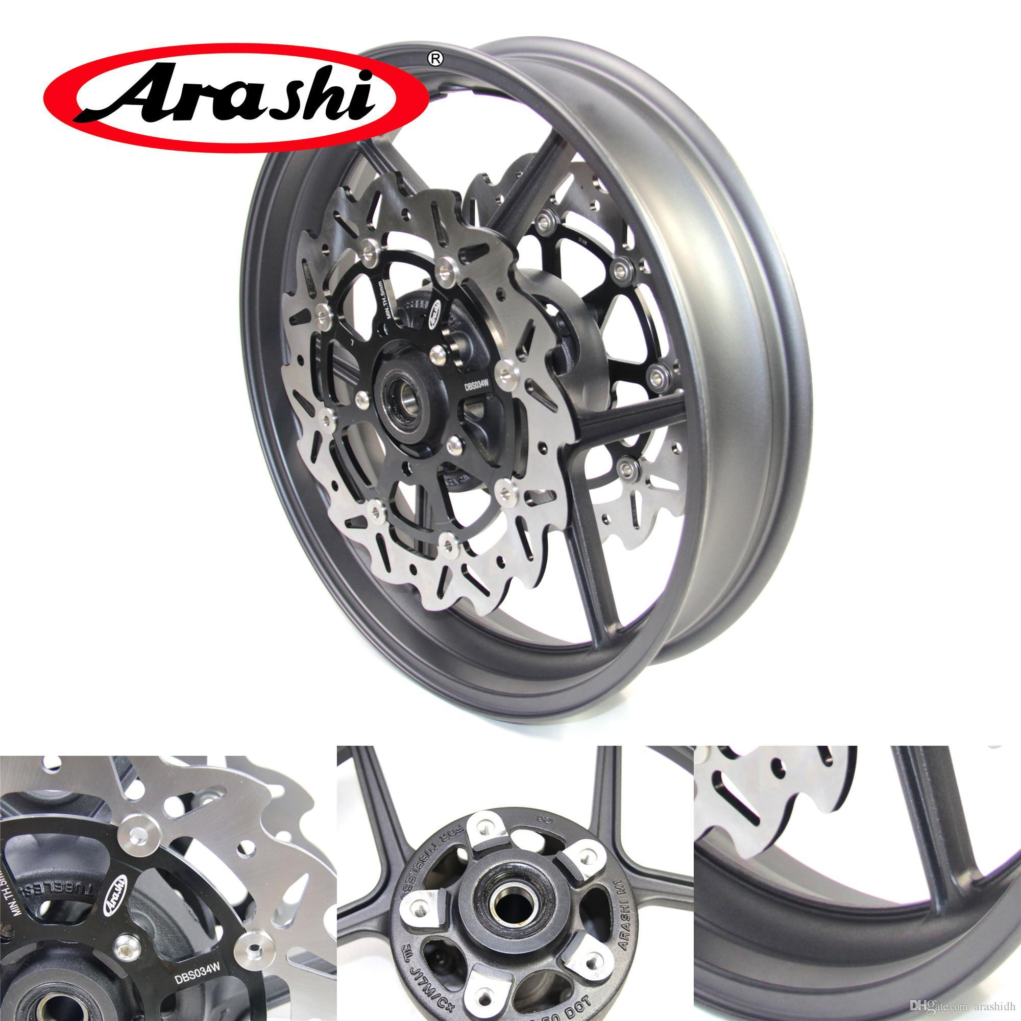 Arashi Für Kawasaki Ninja Zx10r 2004 2005 Vorderrad Bremsscheibe Bremsscheibe Er 6n Er6n Zx 10r Z750
