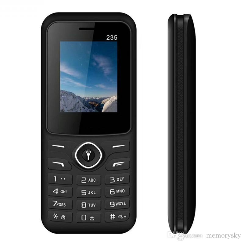 Smart Phone 235 900/1800 / 850/1900MHz 1.77inch QCIF Screen 8W Camera Bluetooth 2.0 Torch light Dual Sim Chinese Phone