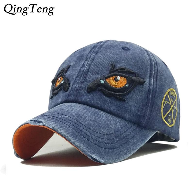 Blank Men Polo Cap Baseball Hat Women Strapback Denim Cloth Cap Casual Sun  Dad Breathable Bone Cheap Snapback Hats Hats Online From Huazu 294903a9d68