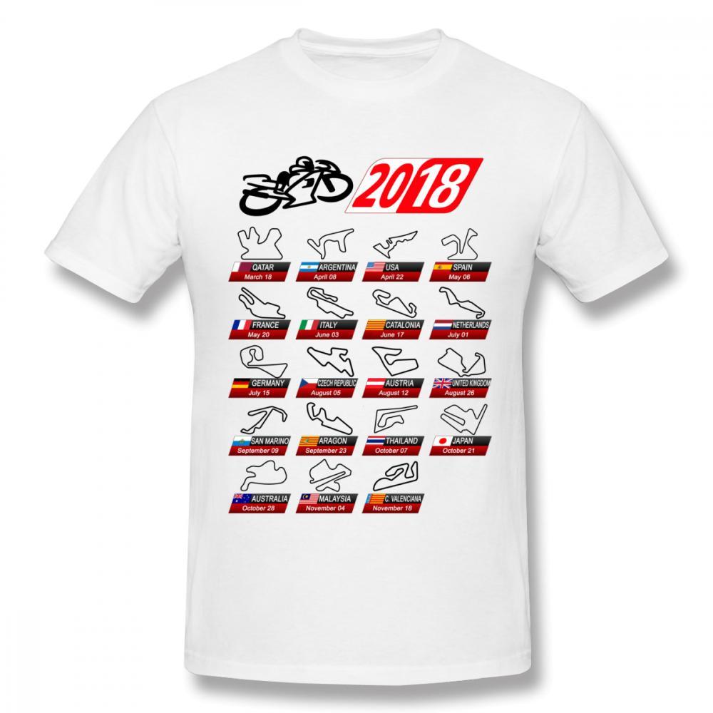 male calendar 2018 motogp circuits sport t shirt popular race moto gp man t shirt t sirt t shirt sites from aringstore 1101 dhgatecom