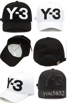 Cheap wholesale Y-3 Dad Hat Big Bold Embroidered Logo Baseball Caps Adjustable Strapback Hats Y3 bone Snapback sport Casquette visor gorras