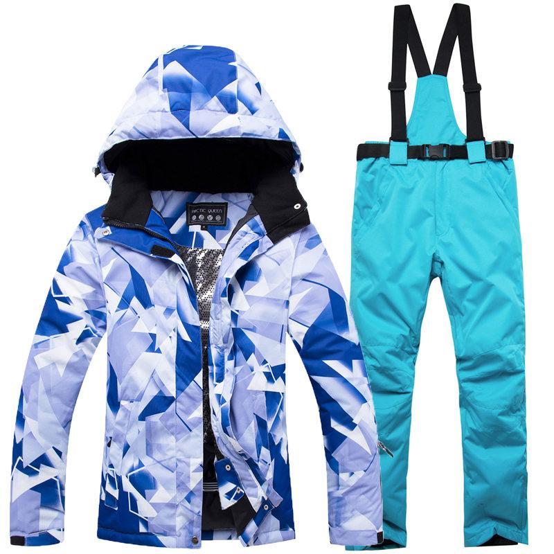 2019 30 Girls Snow Wear Women Skiing Suit Sets Snowboarding Clothing  Waterproof Windproof Snow Jackets And Bib Pants Best Ski Suit From  Orangeguo e11c396695