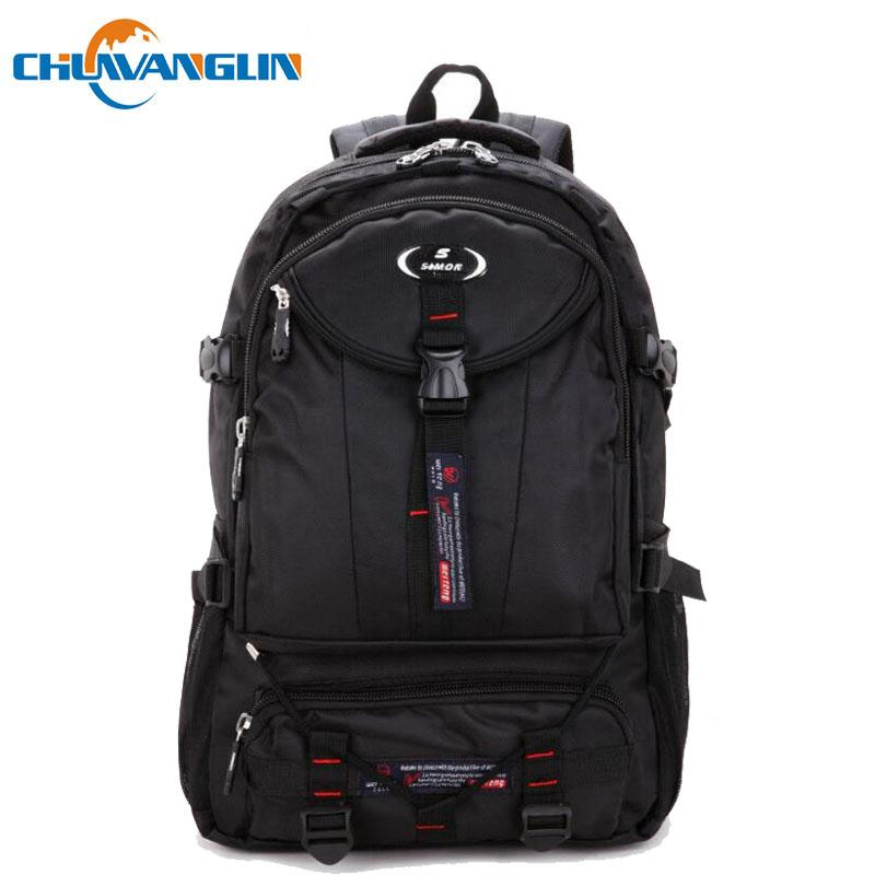 f1ac0fccca Chuwanglin Fashion Oxford Waterproof male backpack new casual travel bag  anti-knock Business 17