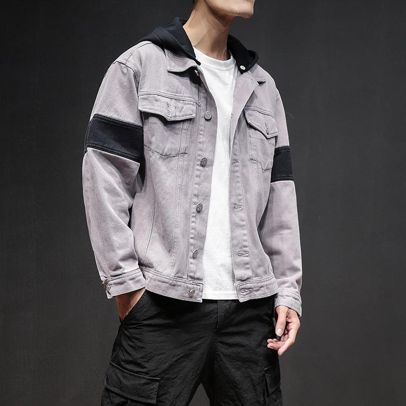 Mens Jacket Autumn Hoodies Jacket Mens Sport Hip Hop Style Jackets