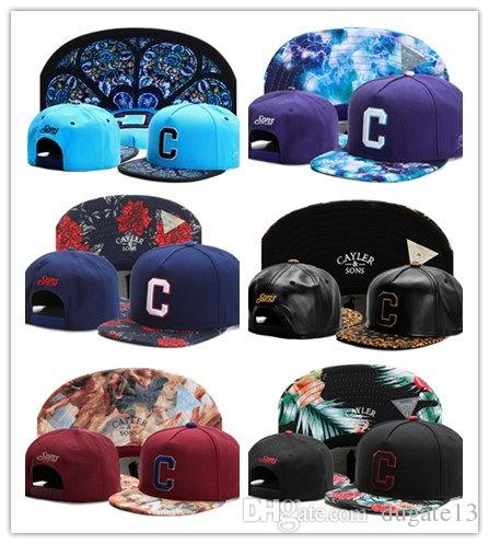 c9020077d14 New 2018 Cayler   Sons Baseball Caps Brooklyn Embroidery Hats Snapback Caps  Adjustable Dad Hats For Men Bones Snapbacks Bone Gorras Cap Ny Cap Mens Caps  ...