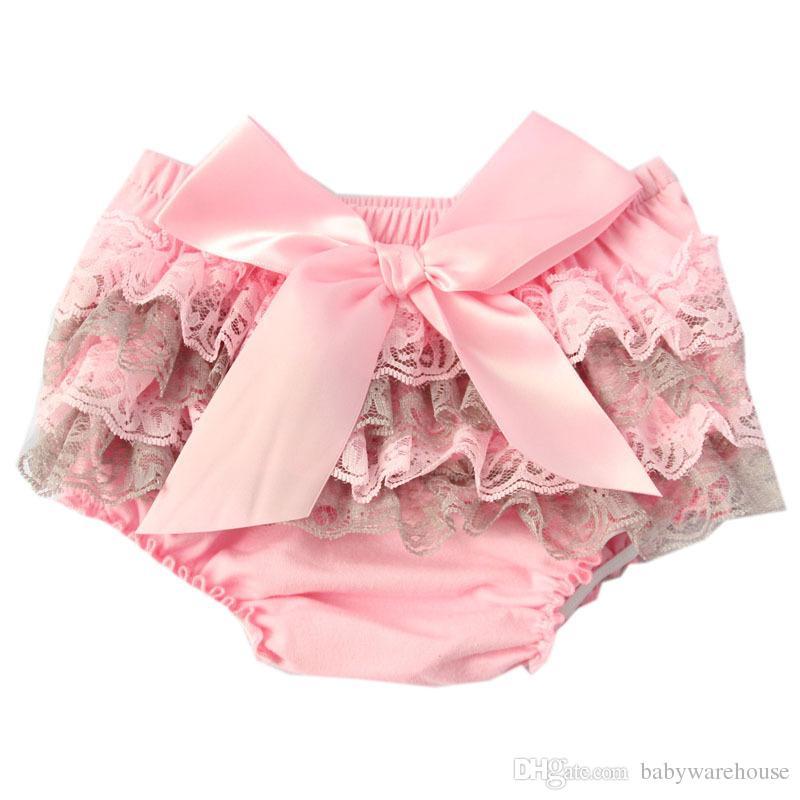 Çocuk Giyim Fırfır Dantel Bebek Bloomers Bezi Kapak Yenidoğan Tutu Ruffled PP Şort Külot Bebek Kız Giysileri Bebek Yürüyor Bebek Şort