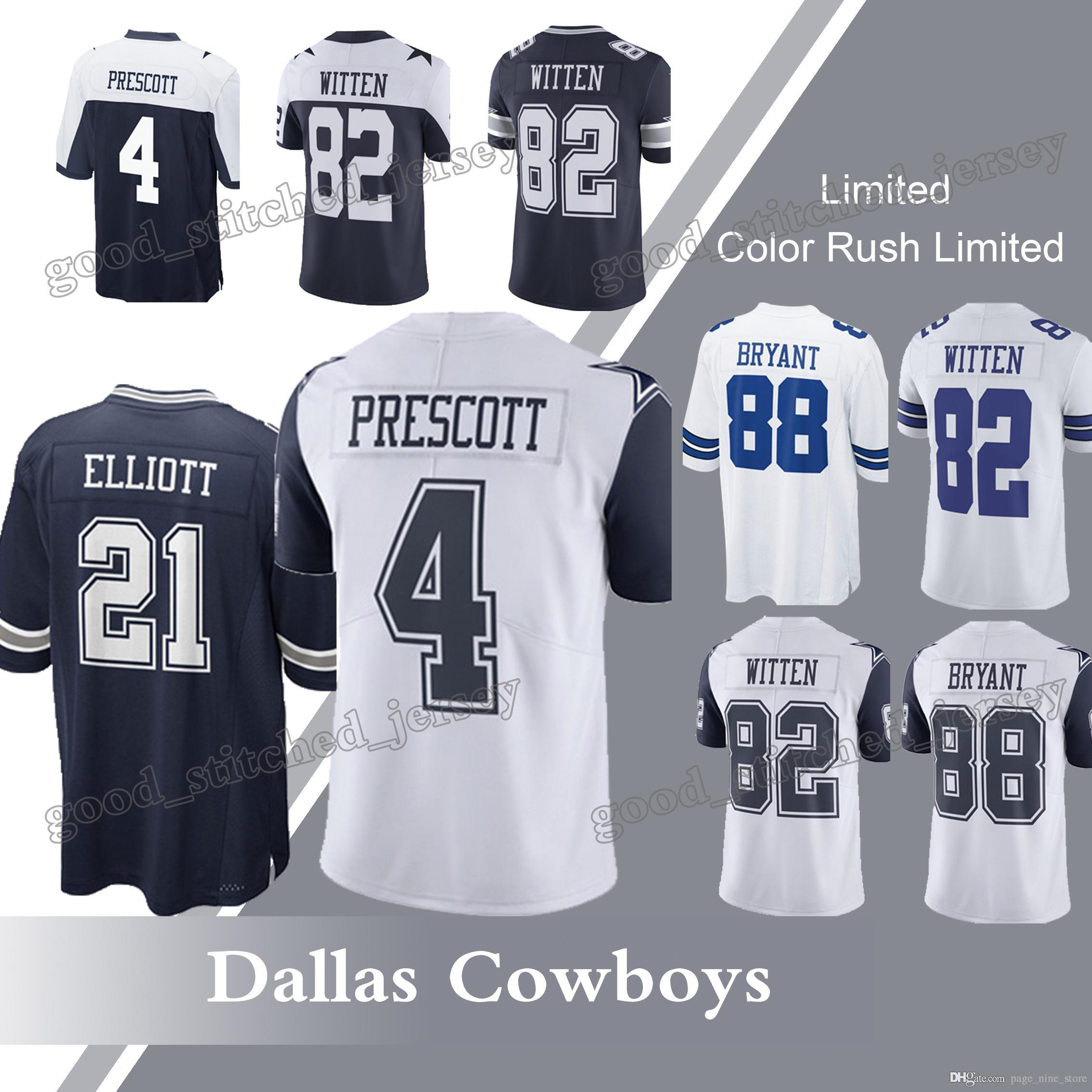 92bf57365 ... coupon code for 2018 dallas cowboys jerseys 55 leighton vander esch 4  dak prescott 21 ezekiel