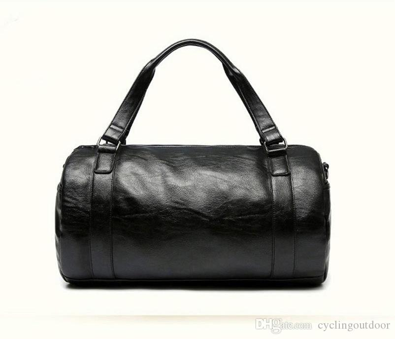 6de1f90d9380 Топ PU сумки кожаные мужские спортивные сумки тренажерный зал сумки  классические спортивные сумки фитнес дорожные сумки тренировки сумка