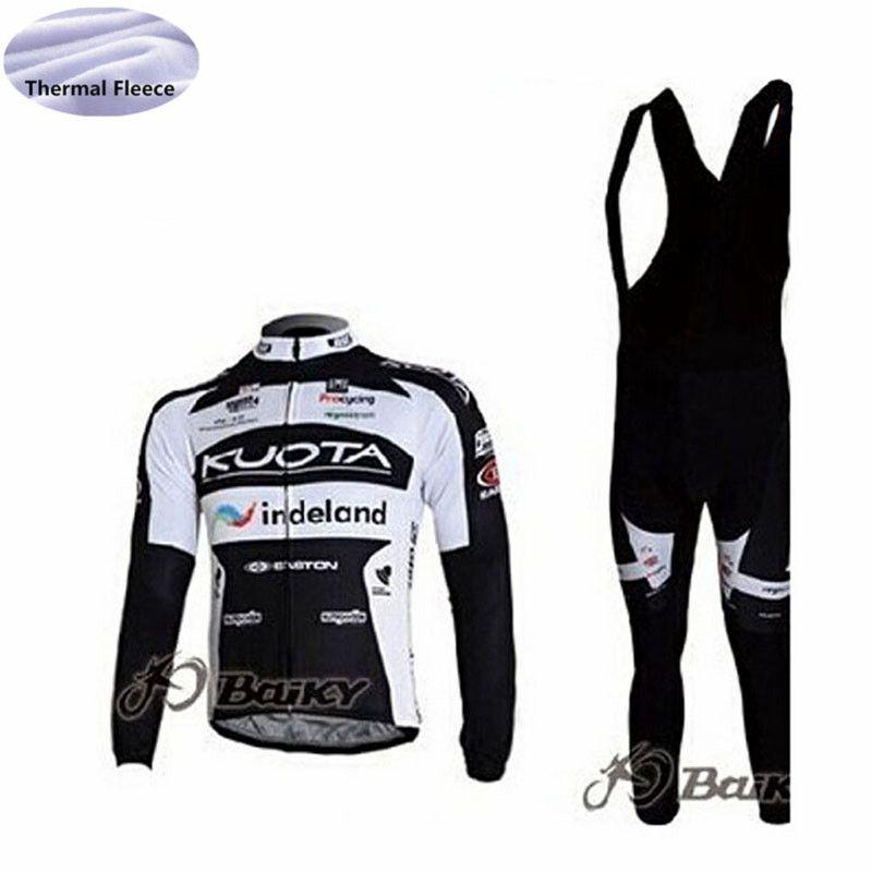 Tour De France AG2R KUOTA Cycling Jersey Winter Thermal Fleece Bicycle Wear  Bib Pants Set Ropa Ciclismo Outdoor Men S Bike Sportswear Custom Cycling ... 8aba903ba