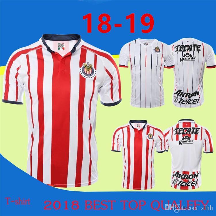 0ec64a5c460 Thailand Quality 18/19 MEXICO Club Classic Chivas De Guadalajara ...