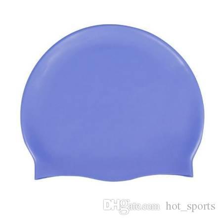 5d7e8751f Compre Touca De Natação De Silicone Adulto Chapéu De Natação Durável  Flexível De Hot sports