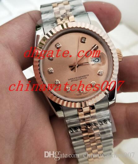 Hot sale 2018 New Style Luxury 178274 gold man 41mm Asia 2813 stainless steel mechanical movement automatic Wristwatch