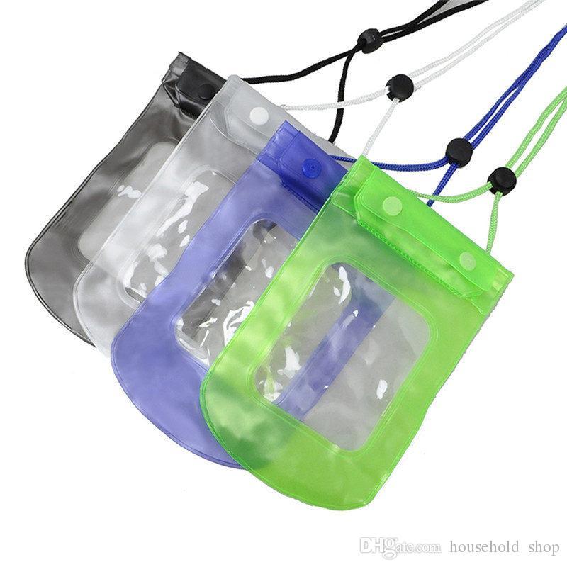 2018 neue Art- und Weisemobiltelefon-wasserdichte Fall-Tasche für iPhone Sommerferien-Mobiltelefon-Unterwasserbeutel Universal-TPU-Packsack