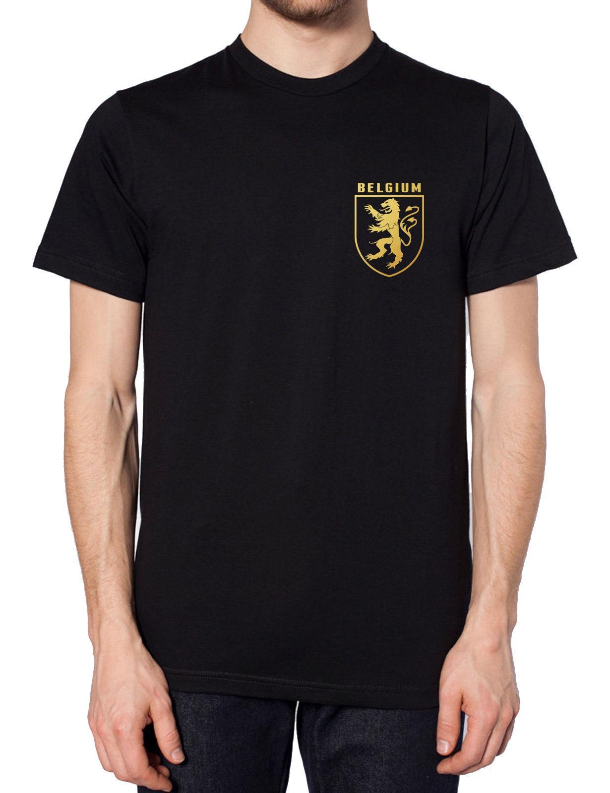 Retro Belgium Football Shirt T Shirt Russia World Cup 2018 Belgian Lion  Vintage Cool Casual Pride T Shirt Men Unisex New Fashion Tshirt Retro  Belgium Cheep ... e37662e8c