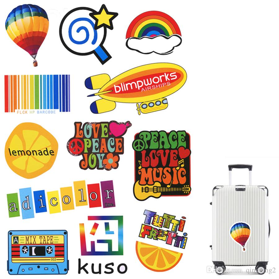 dd004b960ddc 1 PCS Colorful Matte Sticker Toys for Kid Funny Cool Cute Waterproof Decal  Stickers Gift to DIY Laptop Car Suitcase