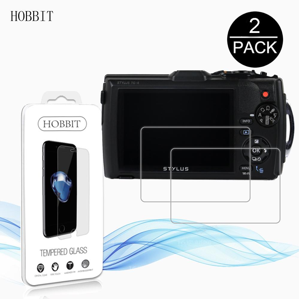 For Olympus Tg 5 Tg5 Tg4 4 Tough 3 Tg3 Waterproof Digital Black Kamera Underwater Camera 03mm 9h Clear Tempered Glass Screen Protector Lcd Film Online With
