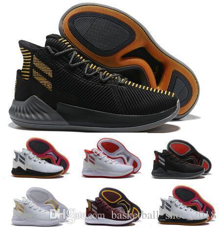 db9b8dd25da554 Sale D Rose 9 Air Basketball Shoes Mens Man Gold Derrick Rose 9s Designer  Runners 2018 Brand Classis Sport Boots Training Sneaker Shoe Basket Ball  Shoes ...