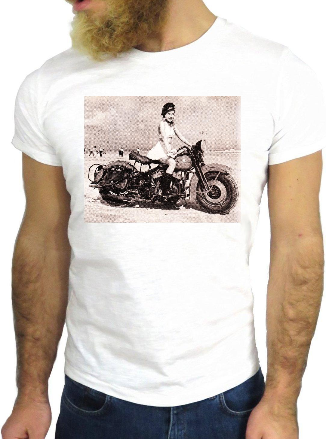 54cd56ff T SHIRT JODE Z2363 VINTAGE CAR RACE FUN NICE BIKER 70'S BORN RIDE ROAD TRIP  ROUT