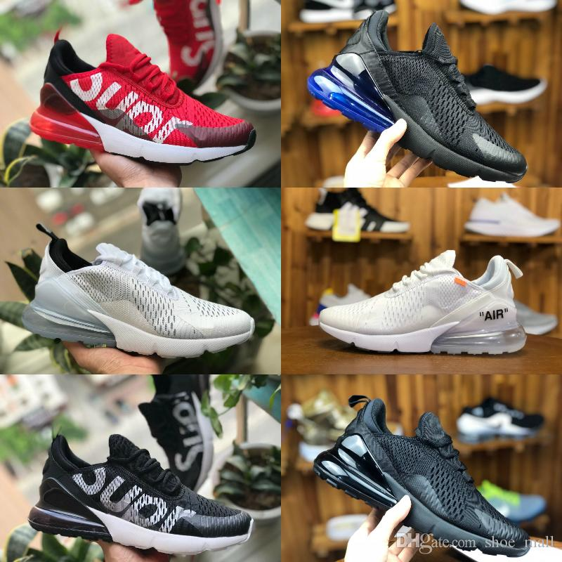 2018 New Arrival 270 Sports Running Shoes Cheap Airs 270S Black White Red  Blue Cushion Trainer Sneakers Run Off Men Women Luxury Brand Shoe 270  Air270 270 ... 5246d69ed