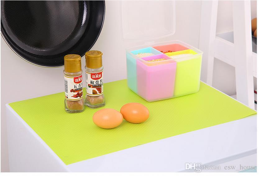 Nuevo refrigerador esteras a prueba de agua refrigerador refrigerador congelador Mat Nevera Bin Anti-fouling Anti Frost Pad multifunción Envío gratis