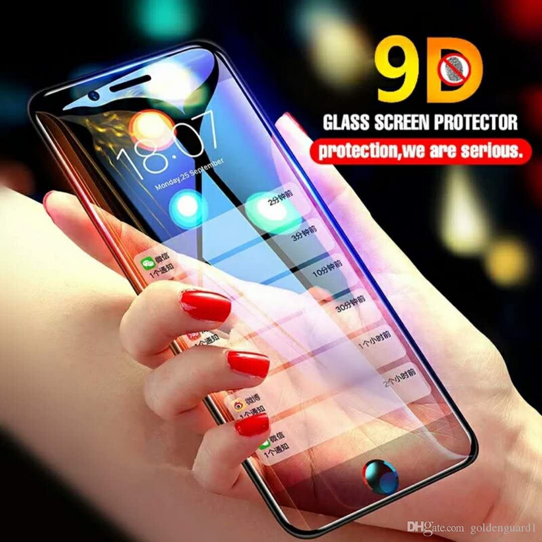 9d Vollständige Abdeckung Schutz Glas Für Iphone X Xr Xs Max Glas Iphone Xs Max X Xr Screen Protector Iphone Xs Max Xr X Glas Flim Handybildschirm-schutz