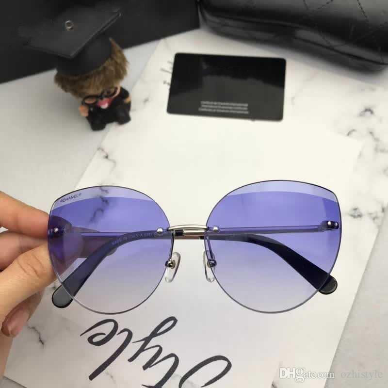 Compre Moda Legal Mens Womens CHANEL CH4281 Verão Estilo Óculos De Sol Da  Marca Designer Óculos De Sol Eyewear Novo Com Caixa De Marca Com Caixa  CH4281 De ... 7e499d10dc