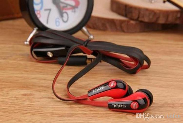 Hot Selling Mini Soul SL700 Soul By Ludacris Ear Earphone Headset Headphone For Apple Ipod Iphone Android phone with retail package