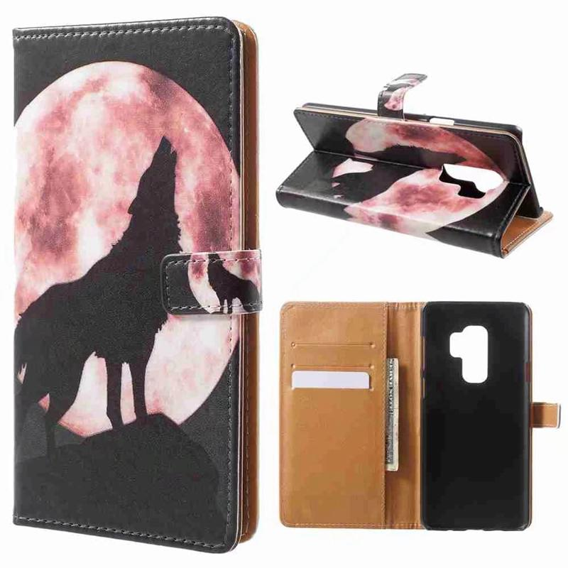 Butterfly Leather Wallet For Iphone X 7 Plus 6 6S SE 5 5S Galaxy S9,S8 Girl Cat ID Card Slot Soft TPU Cash Cases Pouch Cover Money Pocket