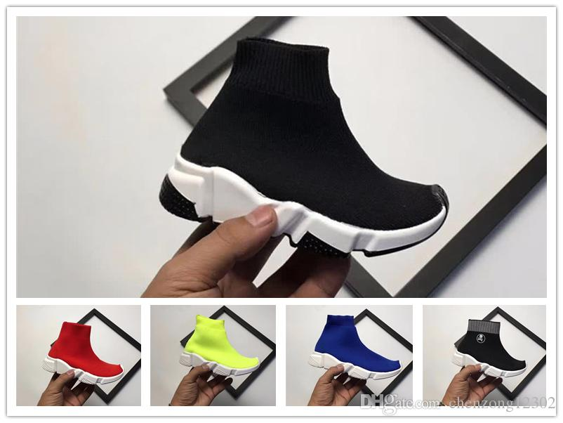0e030a16948f 2018 Paris Children S Shoes Speed Runner Trainer Kids Running Shoes Best  Sale Baby Sneakers Speed Trainer Sock Race Runners Shoes 26 35 Shoe Shops  Running ...
