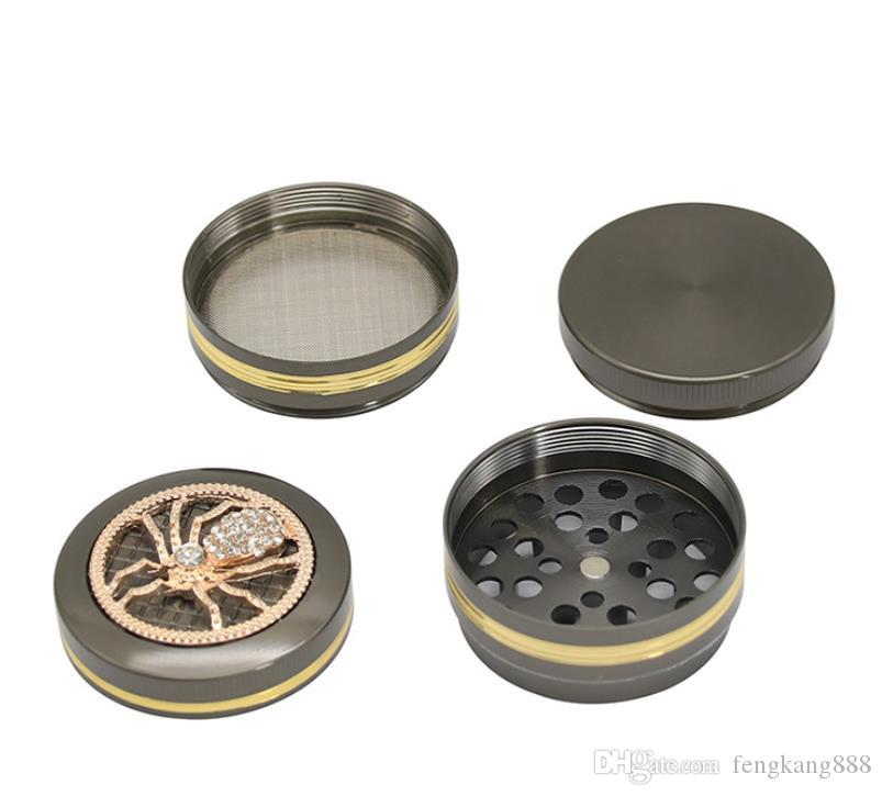 2018 new 50MM 4 layer 3 Gold Animal roof grinder