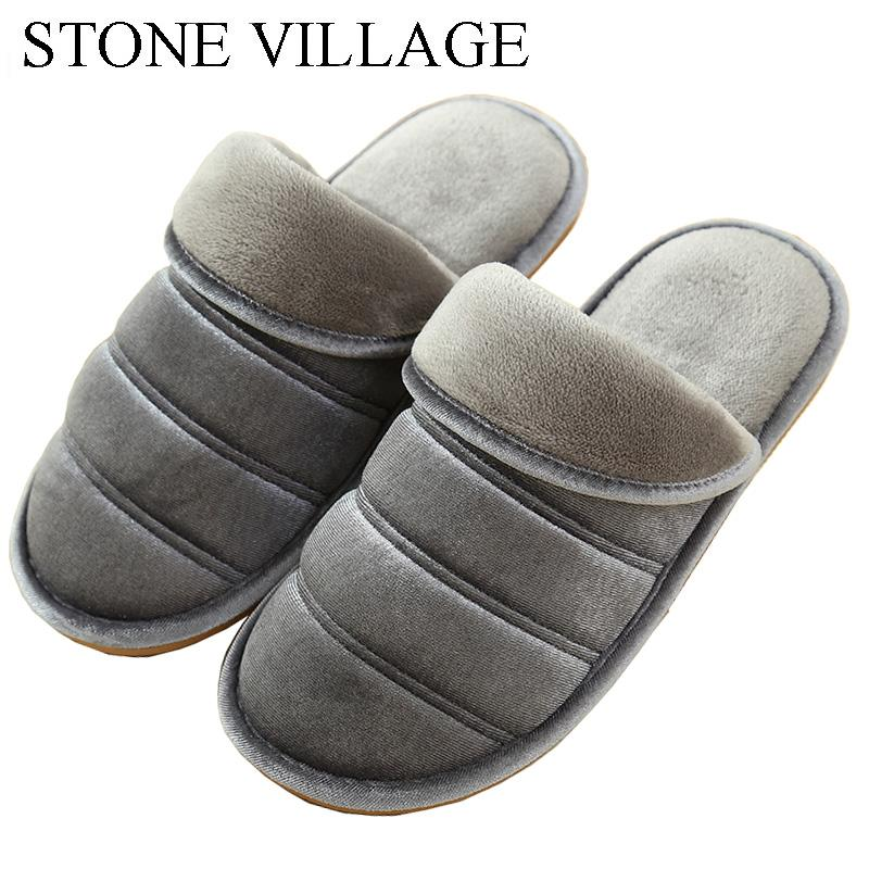 0f806657072a6 Family Home Slippers For Couples Women Men Slippers Indoor Shoes Warm Plush  Non Slip Winter Woman Cute Cartoon Platform Shoes Wedge Boots Boots Sale  From ...