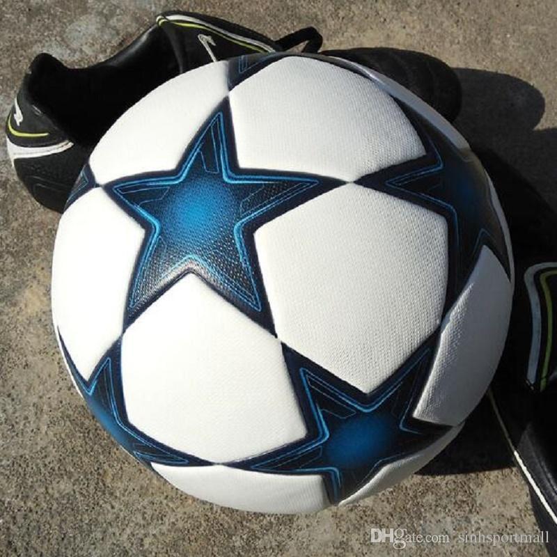 82f66fe0a8 Compre NOVO 2017 2018 Fa Liga Premier La Liga De Futebol Sem Costura Slip Tamanho  5 Bola De Futebol Bola De Futebol De Estudante De Sinhsportmall