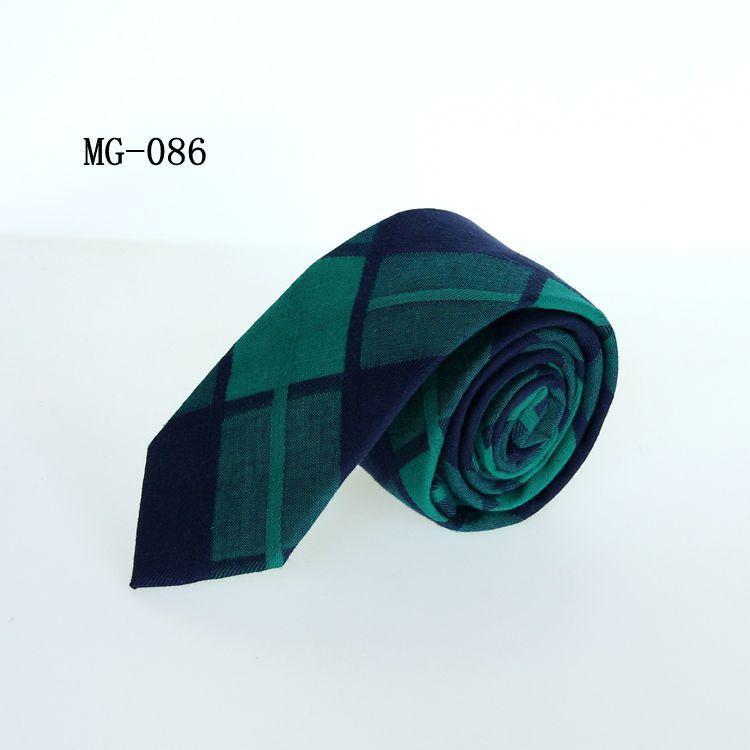 студенческий галстук унисекс 6 см досуг хлопчатобумажные галстуки для мужчин женщин тощий бизнес галстук шеи клетчатый жаккардовый красный галстук