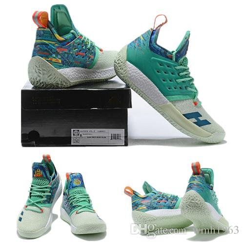 James Harden Shoes 2019: 2019 New Top James Harden 2 Basketball Shoes Mens Designer