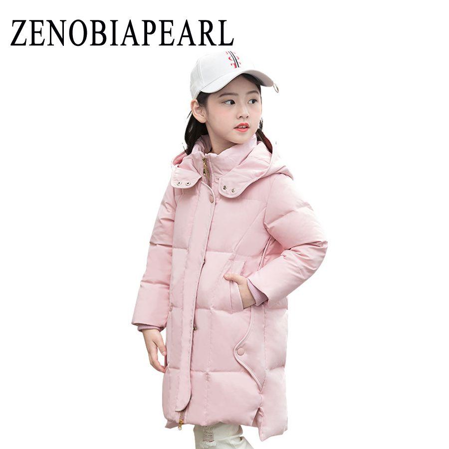 42d66d6ed New 2018 Fashion Children Winter Jacket Girl Winter Coat Kids Warm ...