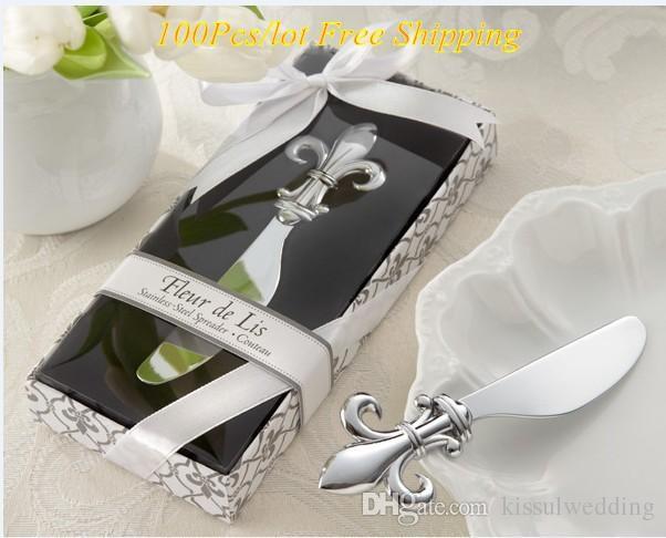 Fleur De Lis Chrome Spreader Wedding Favor For Kitchen Gifts And ...