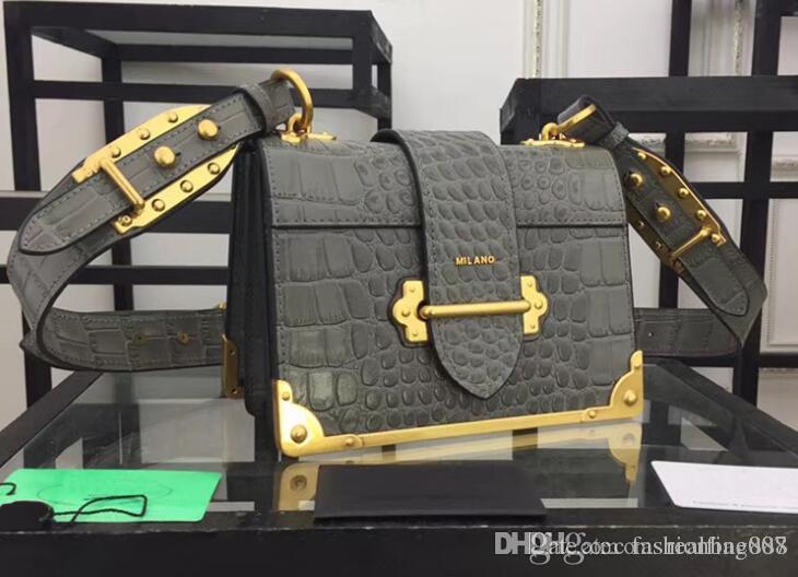 51415d5fff AAA 1BD045 20cm Alligator Leather Bag